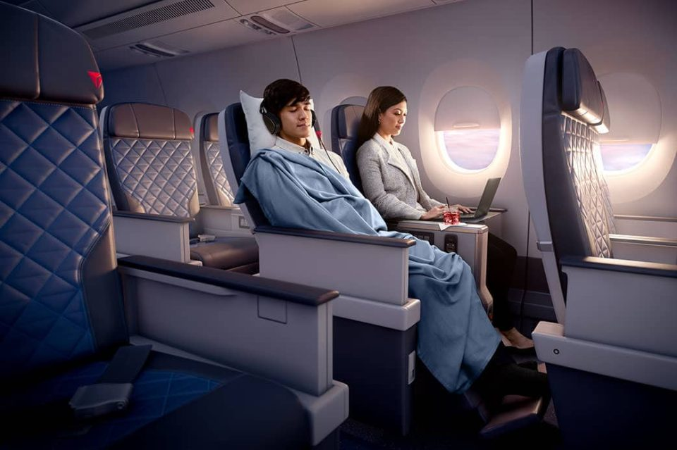 Delta Premium Select Seats A350