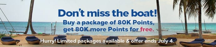 Hilton Honors Buy Points July 2019
