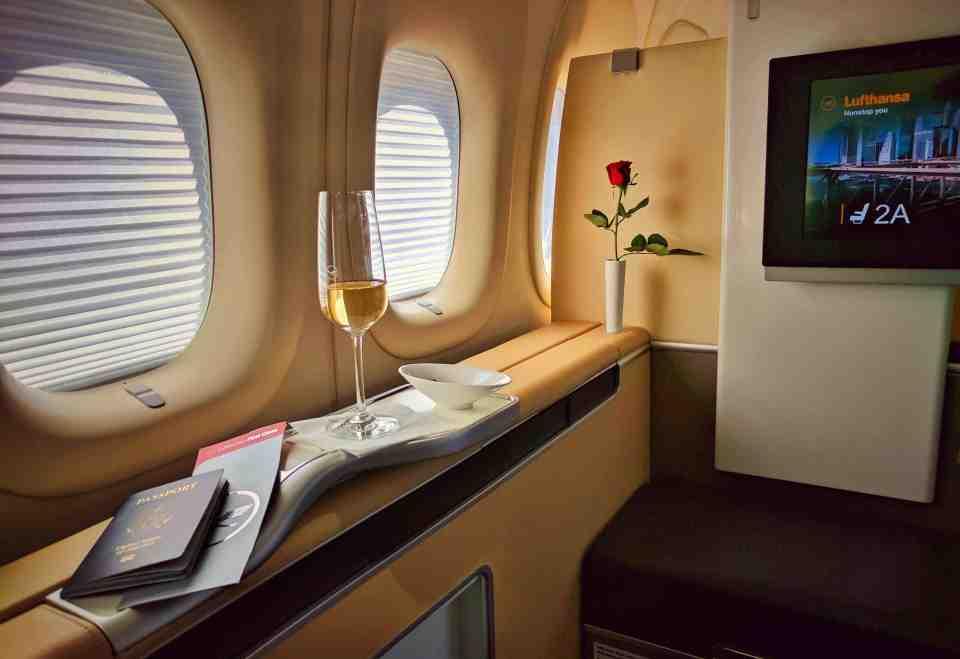 Lufthansa First Cabin