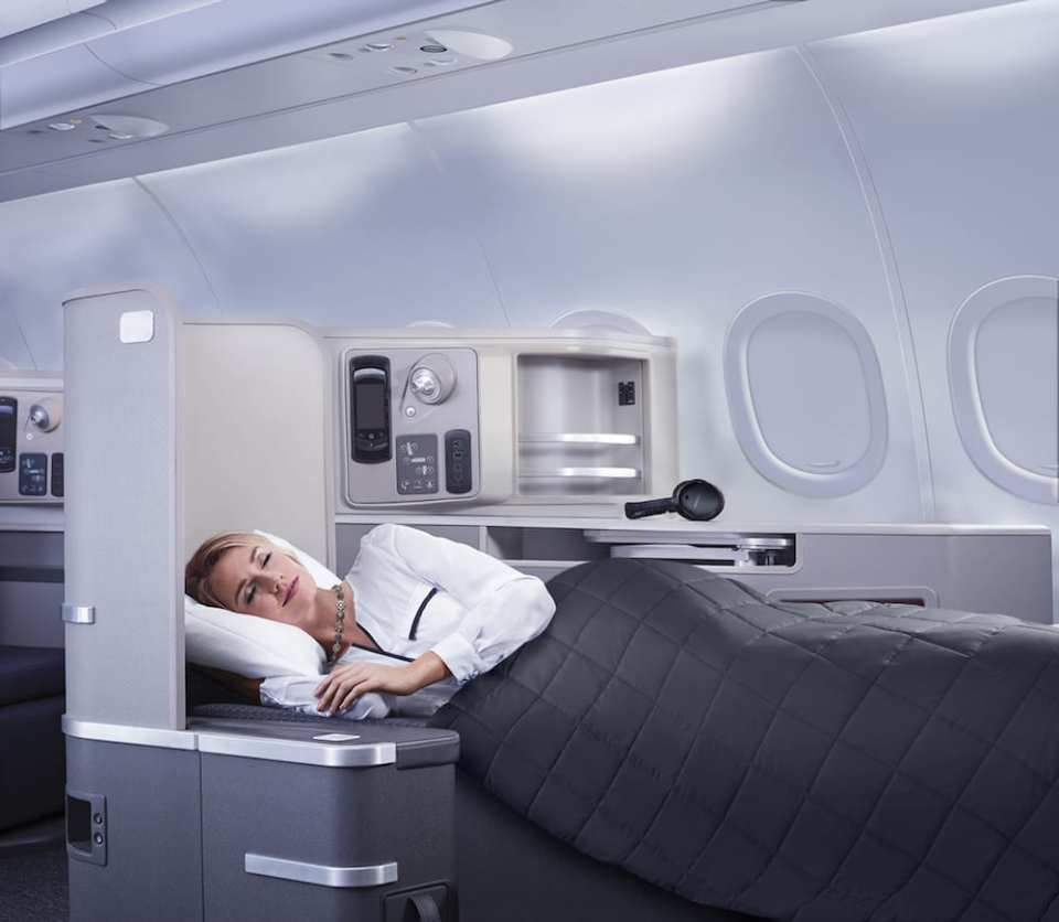 American Airlines A321 First Class