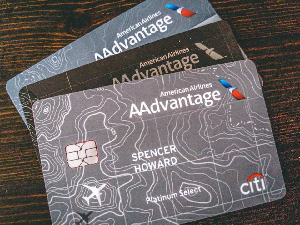 Citi American AAdvantage Cards