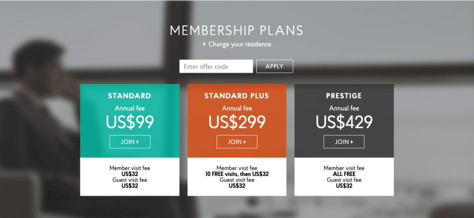 Priority Pass Membership Prices