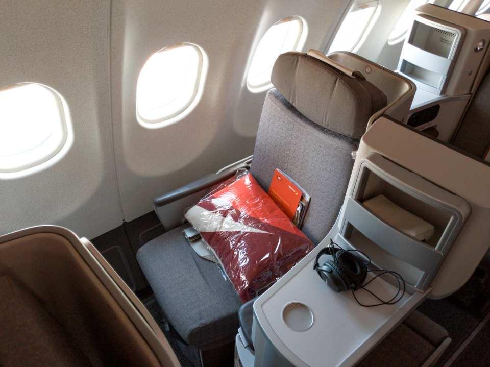 Iberia Business Class Seat A340