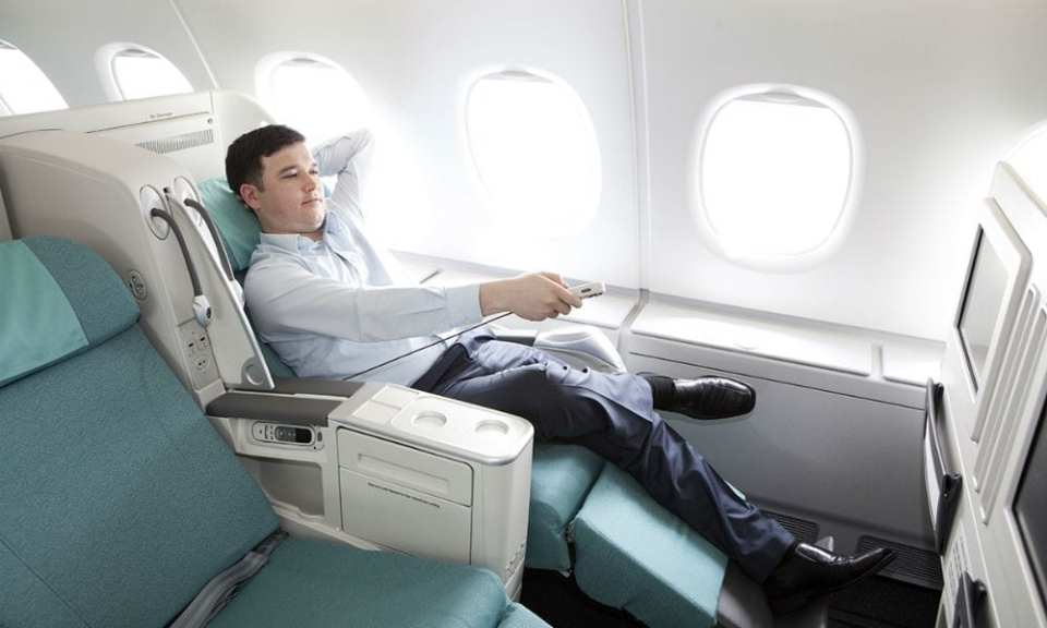Korean Air Business Class Seat
