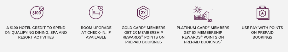 The Hotel Collection Amex Benefits