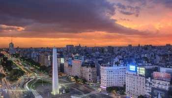 Obelisk on 9 de Julio Avenue, from Buenos Aires Ciudad website