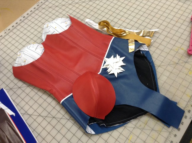 GSTQ Fashions: Wonder Woman Process