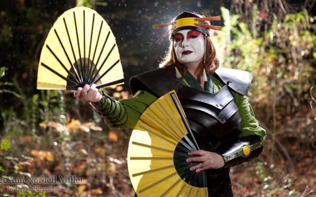 GSTQ Fashions: Kyoshi Warrior Suki