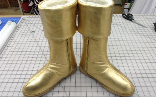 GSTQ Fashions: Captain Marvel Boots