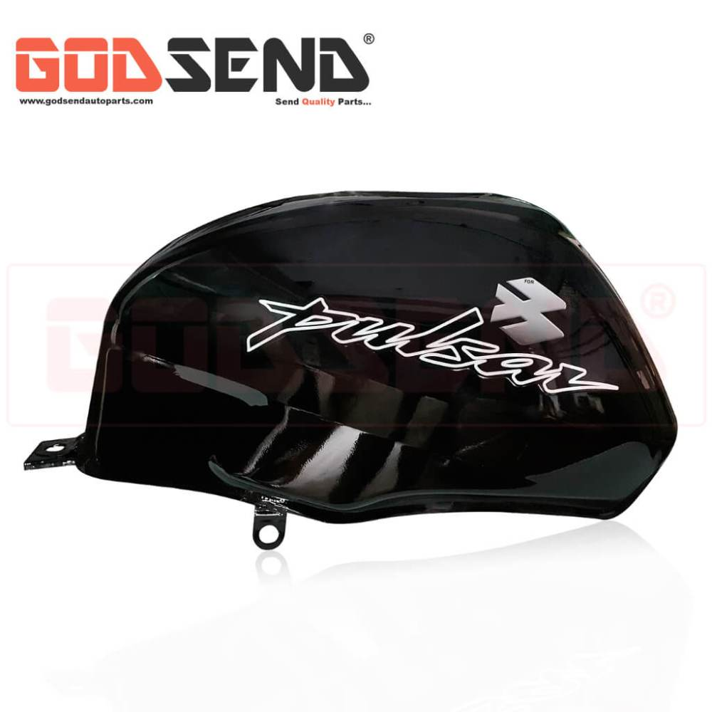 GodSend Bajaj Pulsar 150 Fuel Tank Price Pulsar 150 Petrol Tank Price Old Model Pulsar Fuel Tank Black Colour