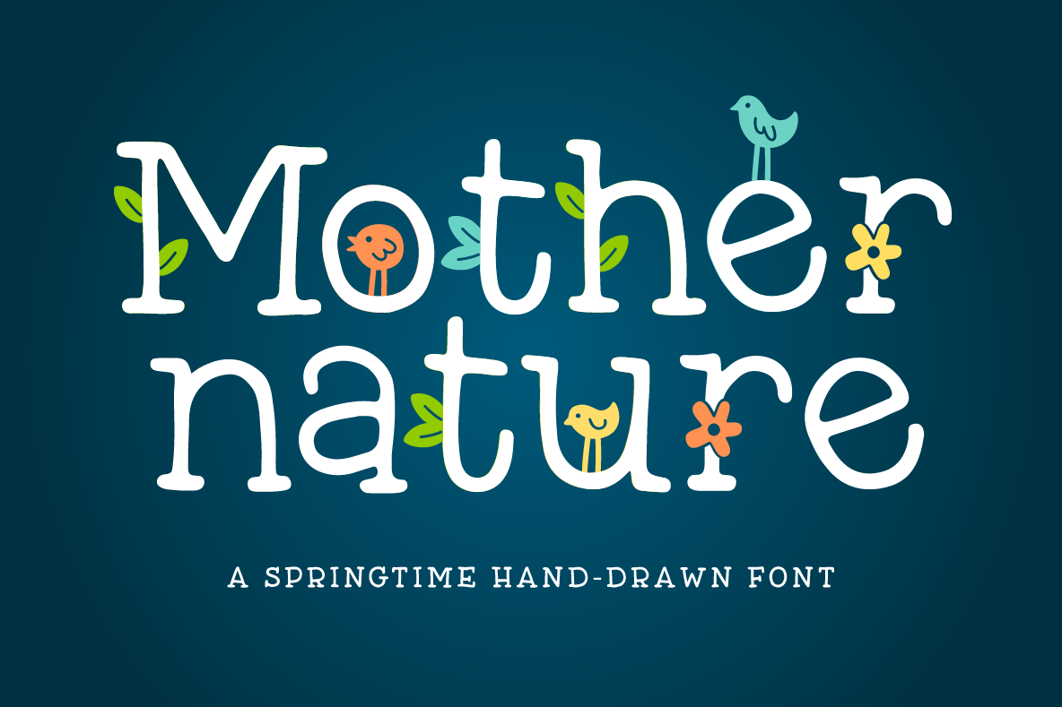 mother nature font