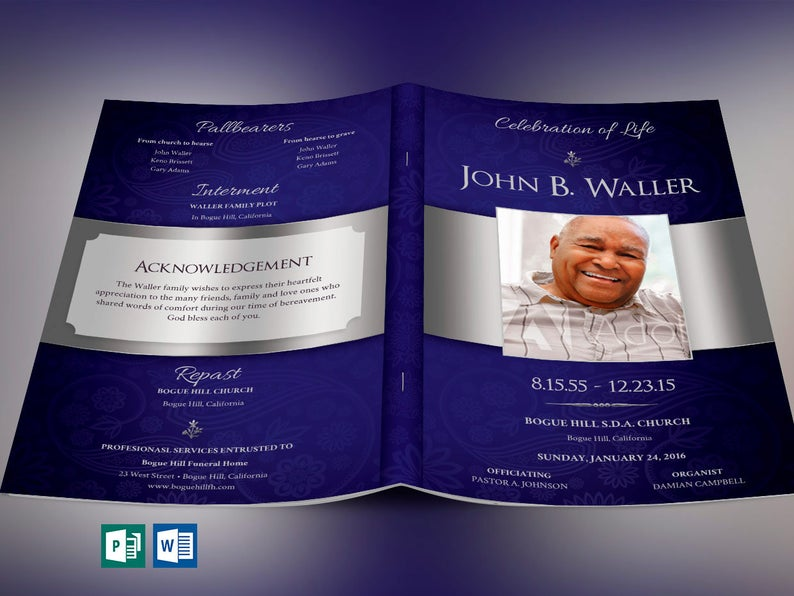 Obituary Templates