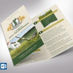 Charity Golf Tournament Brochure Template - Word Publisher