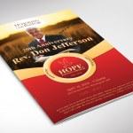 Pastor Anniversary Program 4pgs