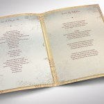 Victorian Funeral Program Word Publisher Tabloid Template