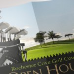 Golf Resort Open House Poster PowerPoint Publisher Template