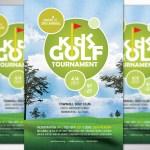 Kids Golf Tournament Flyer Word Publisher Template