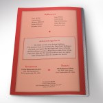 Red Diamond Funeral Program Word Publisher Template