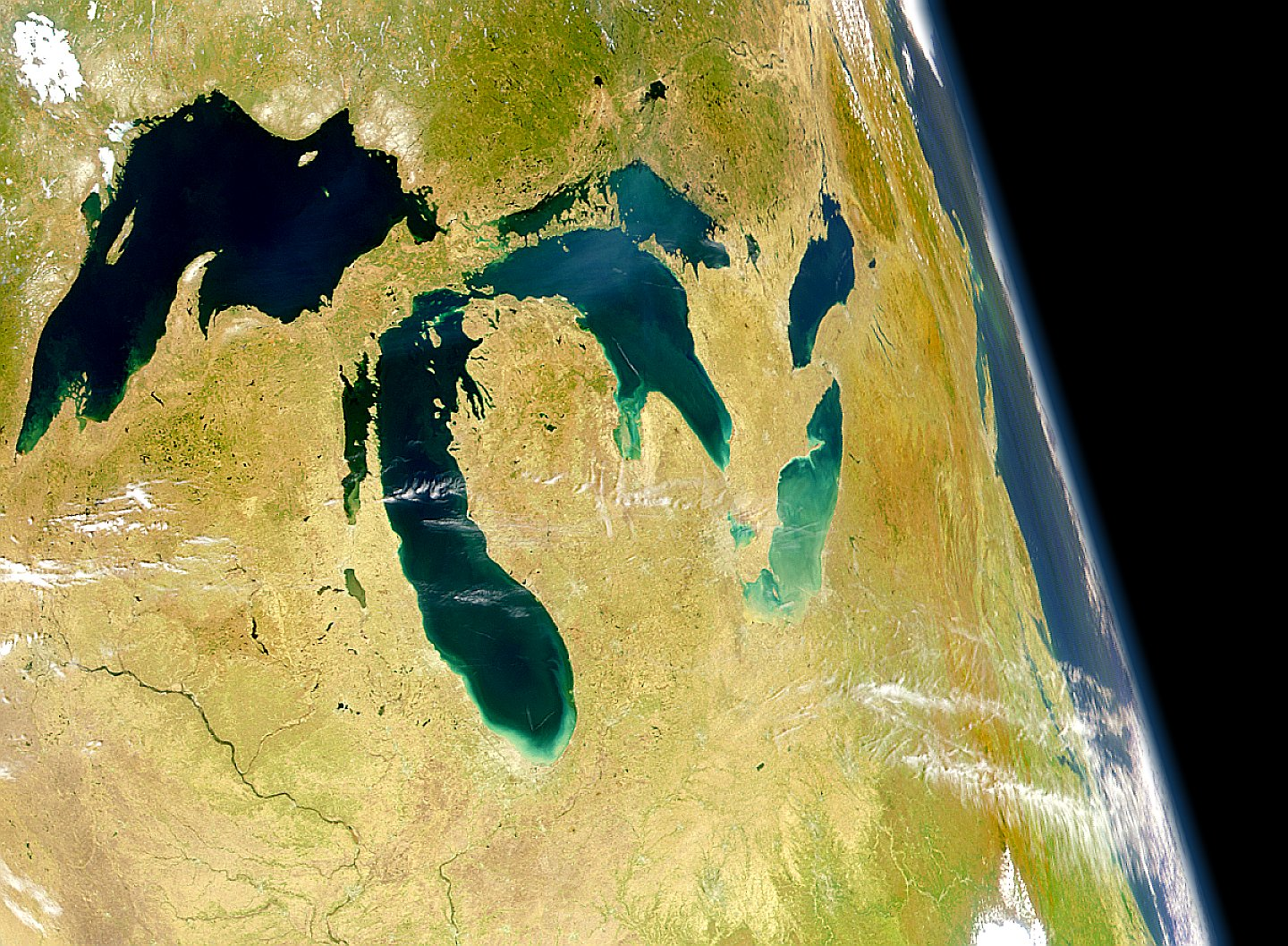 The Great Lakes God S Geography