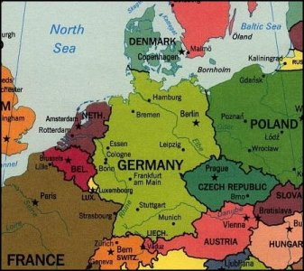 Germany  Denmark  Norway and Sweden   God s Geography Germany