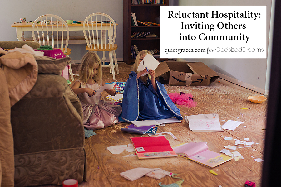 Reluctant Hopitality: Inviting others into Community