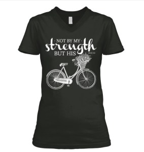 Not By Our Strength But His, T-Shirt Launch