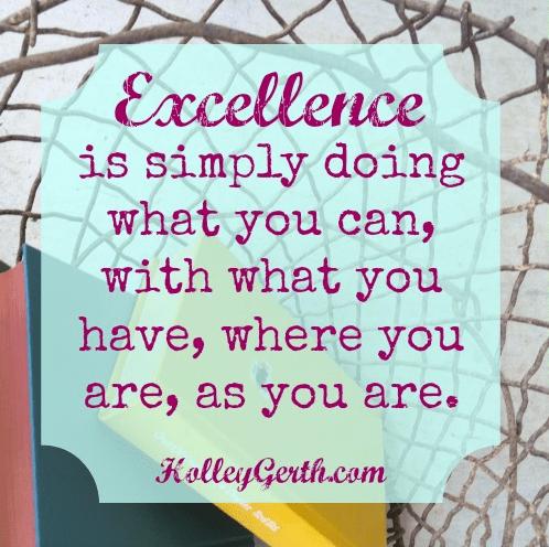 Pursue Excellence