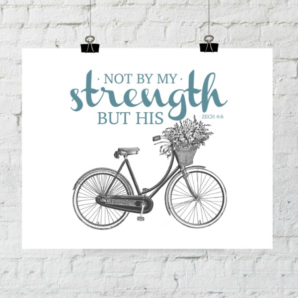 Zechariah Not By My Strength But His