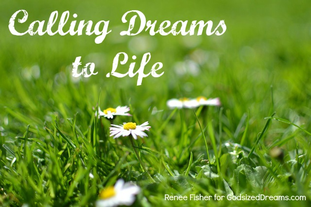 Calling Dreams to Life (And the Random Email Subscriber Print Winner)