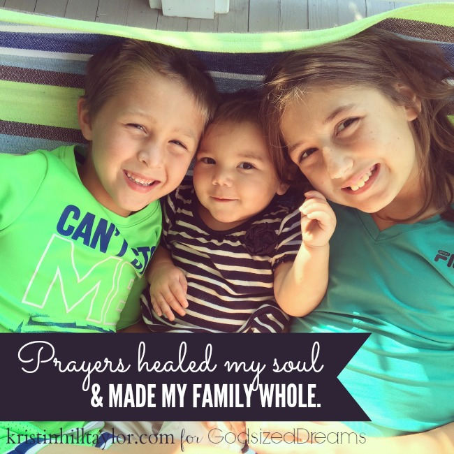 How Prayers Make Us Whole and The #DreamTogether Linkup