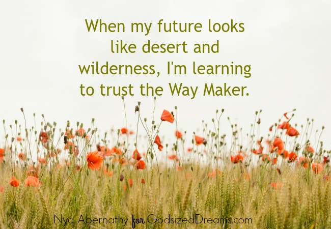 Trusting The Way Maker