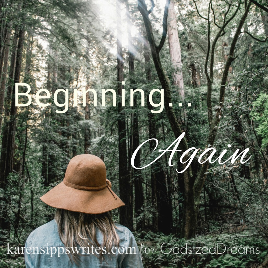 Beginning… Again & The #DreamTogether Linkup