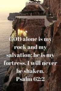Lord of hosts rock not shaken