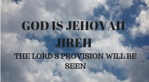 Provision of Jehovah Jireh