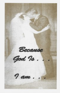 Because God Is . . . I Am, 24 pg. Brochure FREE (pdf) with sign up for FREE eCourse Bonus - Print and eBook