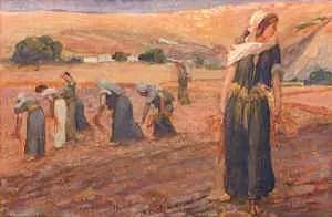 Boaz-Jesus Ruth ans servant girls