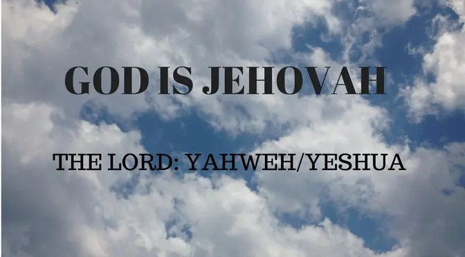 M11A Biblical Fire Symbolizes the Presence of Jehovah