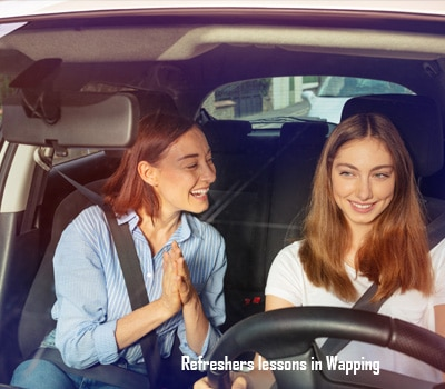 Refersh your driving with Wapping Driving School in East London