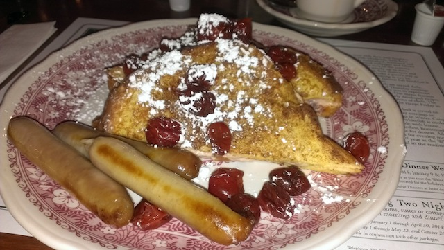 white gult inn french toast