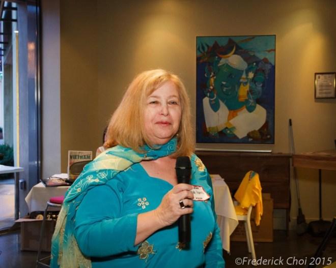 Linda Harris at Destination India