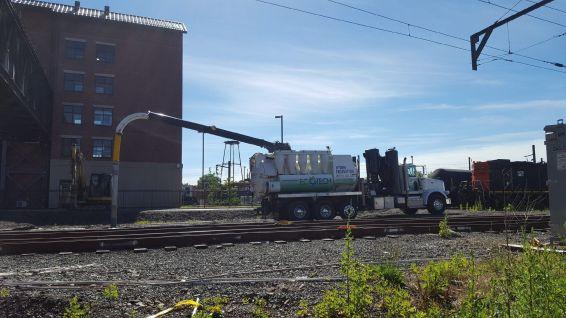 Railroad track rehabilitation