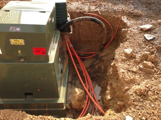 Hand-digging is only alternative to safely exposing utility lines.