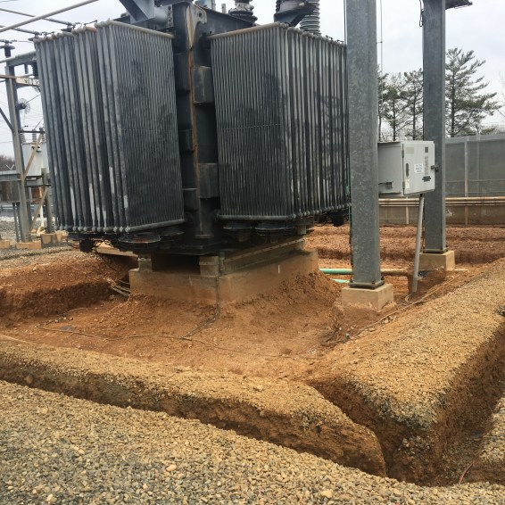Trenching to assist in the locating of underground utilities