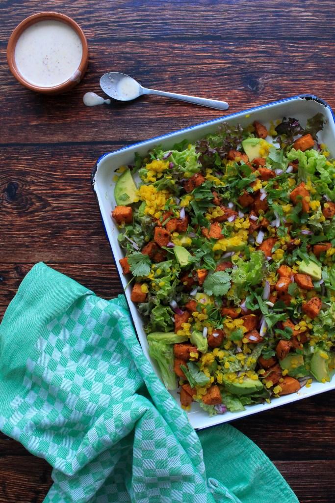 salade zoete aardappel avocado linzen goestjes jozefien ryckx