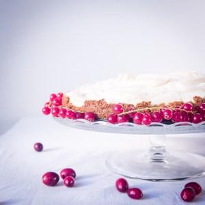 meringue veenbessen goestjes kerst dessert