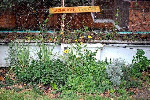 Jardín comunitario y educativo Casa 82 en Bogotá