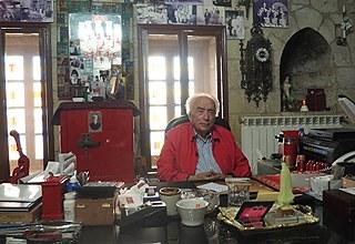 Samir Baz in seinem Büro