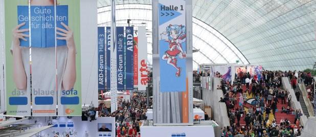 Die Leipziger Buchmesse erfreut sich jährlich hundertausender Besucher und Besucherinnen.
