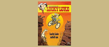 Buchcover: Lucky Luke sattelt um