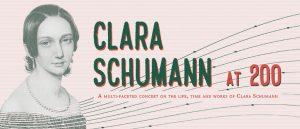 Clara Schemann at 200 concert poster